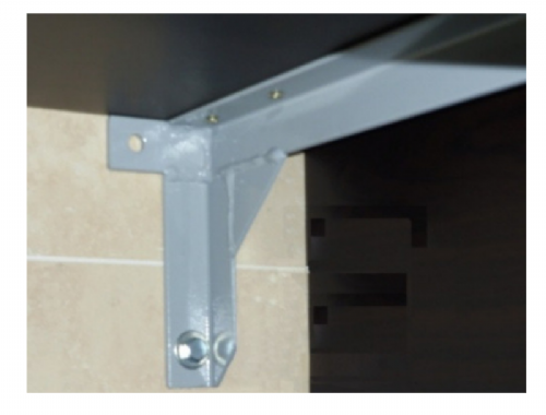 Saneux - Bracket Kit For Matteo Countertop 600 And 1200mm